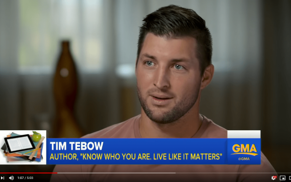 Tim Tebow sheds light on homeschooling, says it's 'good' to be 'different'