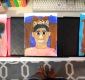 Homeschool Art Self Portraits