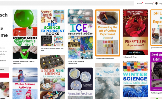 Using Pinterest For School