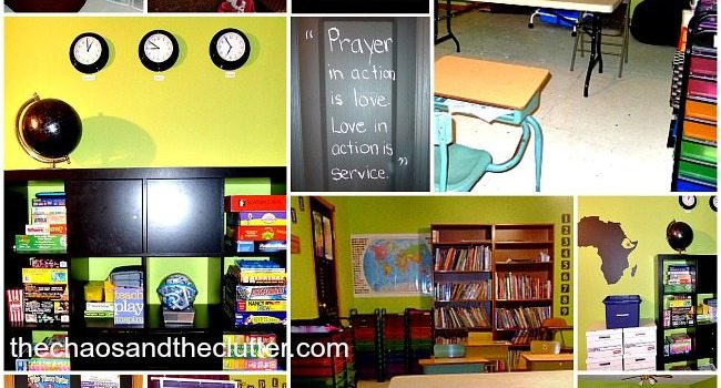 Our Homeschool Classroom