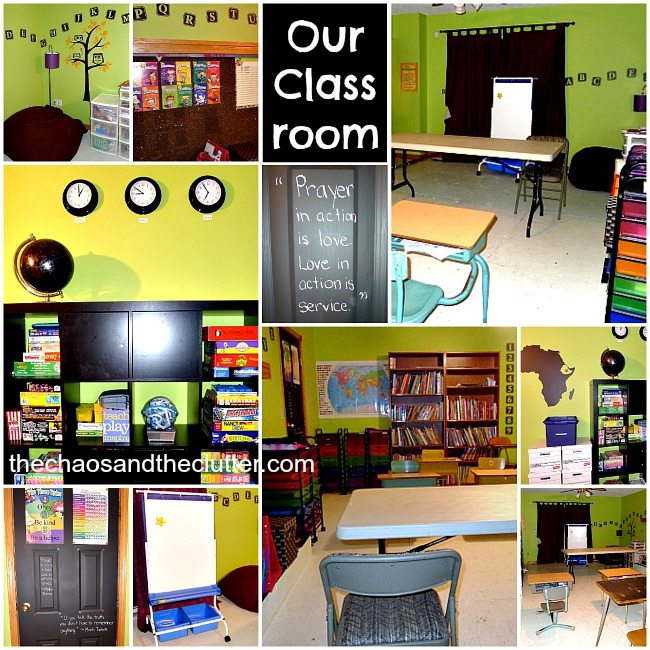 Our Homeschool Classroom